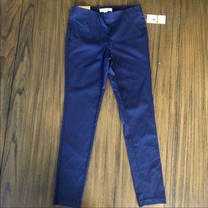 Michael Michael Kors High Rise skinny pants navy